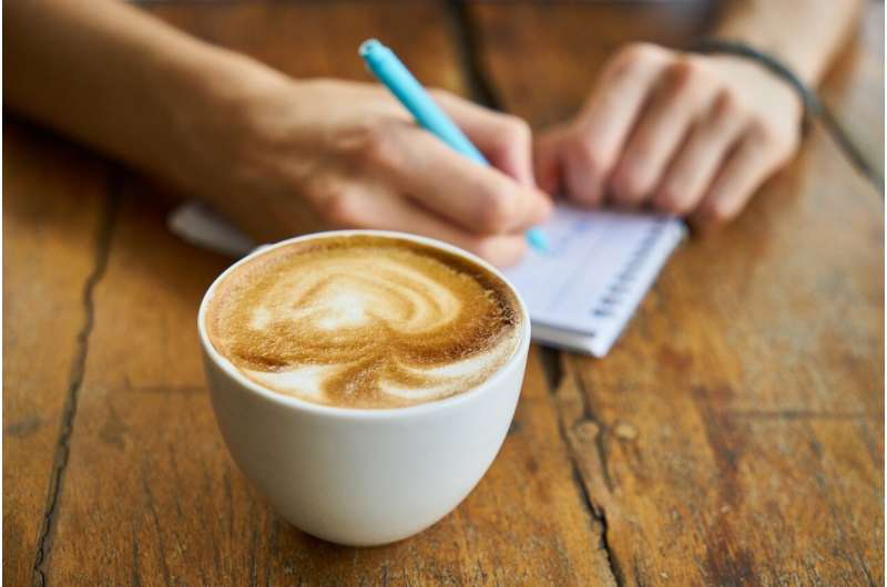 Light-to-moderate coffee drinking associated with health benefits