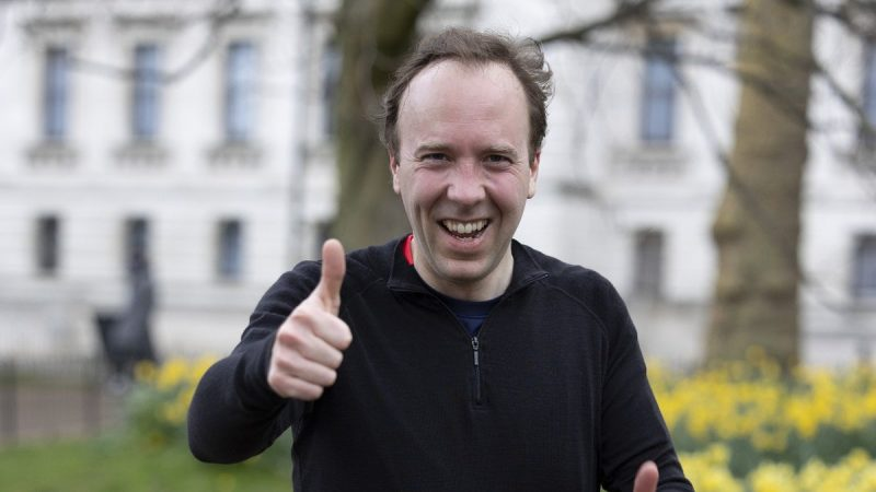 Matt Hancock sets up JustGiving and people are paying to leave insulting comments