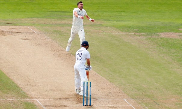 'Nailed it': Jimmy Anderson lauds England for day one dominance